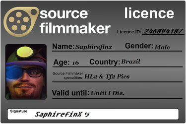 A License by Saphirefinx