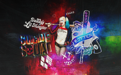 Harley Quinn Suicide Squad Wallpaper by Panchecco