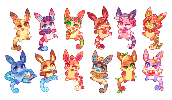 (CLOSED) Charminis Army #2 by scarletscreations