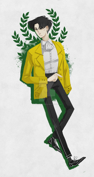 Humanity's Yellowest by the-flying-beetle