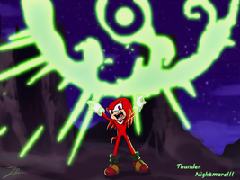 knuckles thunder nightmare by grim-zitos