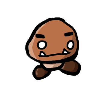 Goomba Doodle by BLTspirit