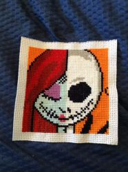 Nightmare Before Christmas Cross Stitch by Fluffer2004