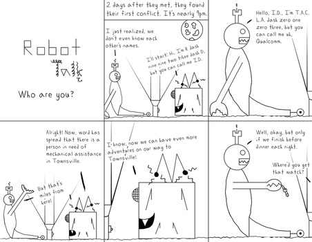 Robot Talk, Issue 3 by tanya6k