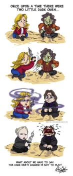 Ouat Two Little Dark Ones by Otto-Chrissi