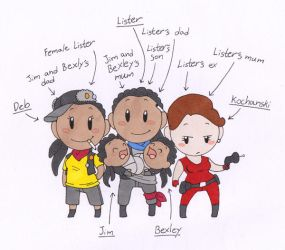 Lister's Family by humon