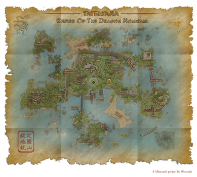 Tatsuyama - Map and Download by Wooraah