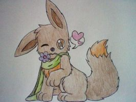 Art Trade- anchTHEeevee by Star-Swirls