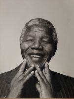Pencil Drawing Nelson Mandela by SamanthaMessias