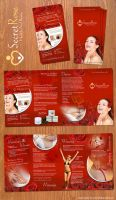 Beauty salon brochure design by wiz24