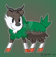 Skiddo colored