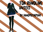 [MMD] TDA Rondline Outfit by Neurotic--Maik