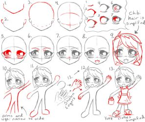 Chibi Tutorial by manic-goose