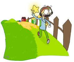 Scribblenauts with Pewdie by 1WebRainbowe1