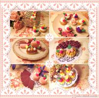 VK - Sweets Keychain Charms by Yiji