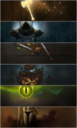 World of Warcraft Class Headers for RaiderIO by jezebel