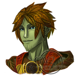 GW2 portrait - Finexen by Webmegami