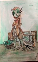 The Fish Monger by Death2Eden