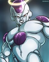 Angel Frieza [Dragon Ball Super - Fan Art] by TomislavArtz