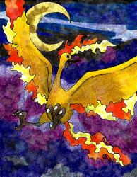 Moltres by Macuarrorro