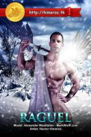 Raguel - Angel of Ice by HectorHimeros