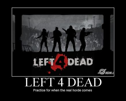 Left 4 Dead poster by Cielos-girl