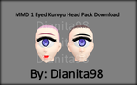 MMD 1 Eyed/Cyclops Kuroyu Head Download by dianita98