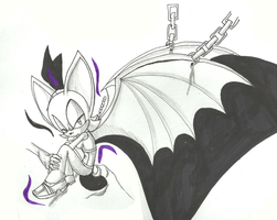 Rouge the bat scan by rouge2t7