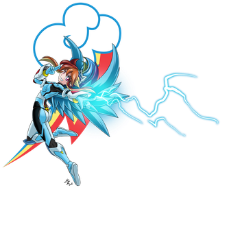 FM: rainbow: Valkyrie Lightning by mauroz