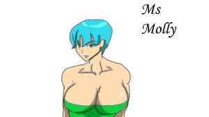 Ms Molly animation test by fighterxaos