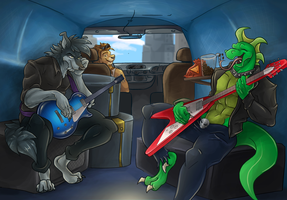 Nightriders Battle of the Bands Part 2 by AxlReigns