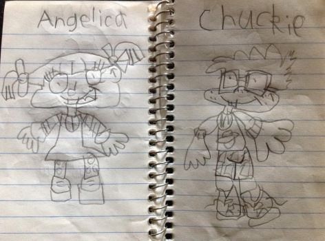 My Rugrats drawings 3 by Prince5s