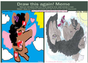 Art Improvement Meme! (MLP) by KikiO3000