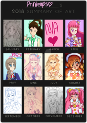 2018 Summary of Art by GrandPrintemps