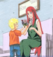 Naruto and Kushina - Mother's Day by BotanofSpiritWorld