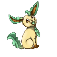 leafeon by Quitedeath