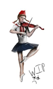 Work In progress Lindsey Stirling by Delkin