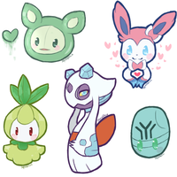 Doodle - Pokemon by SqueakFace