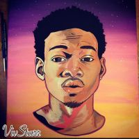 Chance The Rapper by VivStarr