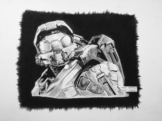 Master Chief- Halo series by TraciKush