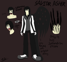 CP/Horror OC Reference: (Savior) Asher by sonicman10