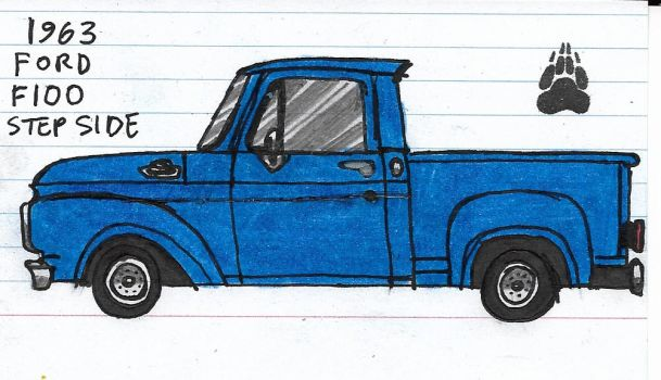 1963 Ford F100 Step Side by Katarina-G