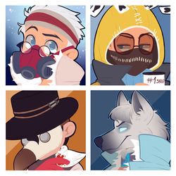 Icon commission pack number 95 by BloodyArchimedes