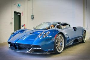 Pagani Huayra Roadster by SeanTheCarSpotter