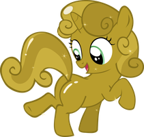 Sweetie Belle's Plot of Gold by Cwossie