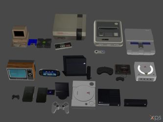 videogame systems pack REUPLOAD by RyuAensland