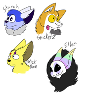 OC Headshots 3 by Radicalhat