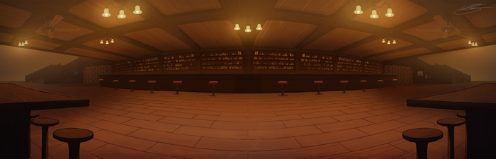 The Pub Panoramic by MarkisComic