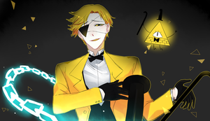 Bill Cipher by Koumi-senpai