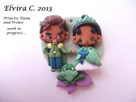 The Princess and the frog! by elvira-creations